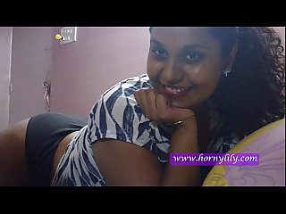indian babe lily on webcam showing ass and tits