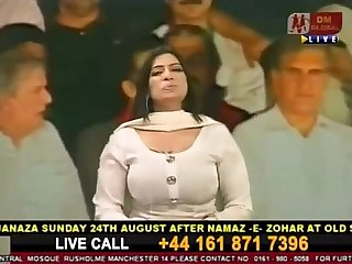 Busty Big Boobs Thick Sexy Milf Pakistani Actress Nadra Chaudhary.FLV
